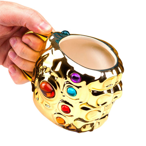 Marvel Avengers Thanos Infinity Gauntlet Shaped Mug