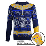Marvel Avengers Thanos Knitted Christmas Jumper / Sweater