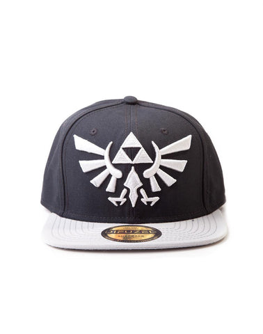 The Legend of Zelda Grey Logo Snapback