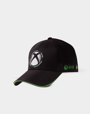 Xbox White Dots Symbol Trail Cap