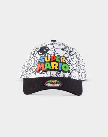 Super Mario Villains Snapback Cap