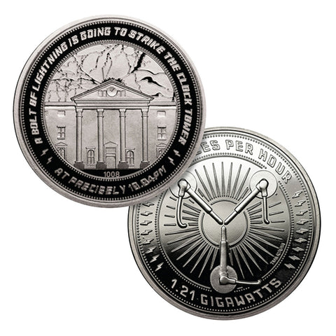 Back to the Future Limited Edition Collectors Coin