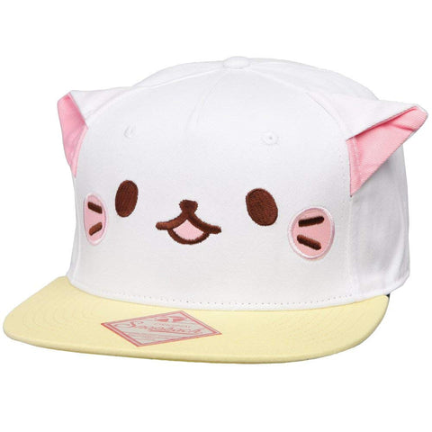 Bananya Face with Ears Snapback Cap