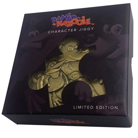 Banjo Kazooie Limited Edition Jiggy Piece