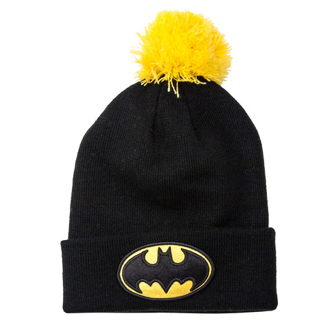 Batman Knit Bobble Hat