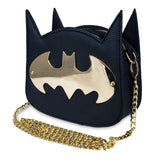 Batman Gotham Gold Cross Body Handbag