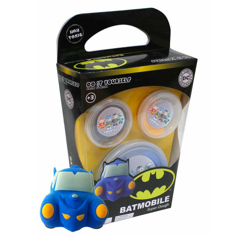 DC Comics Batman Batmobile Super Dough DIY Kit