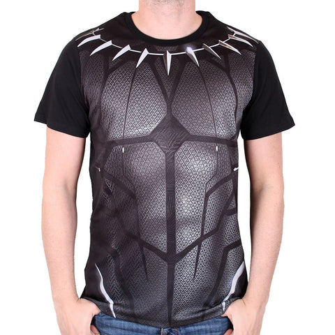 Black Panther Costume T-Shirt