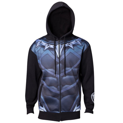 Black Panther Sublimated Costume Hoodie