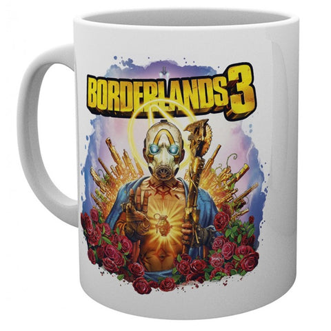 Borderlands 3 Pyscho Bandit Artwork Mug
