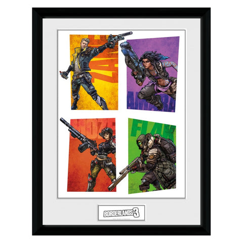 Borderlands 3 Hunters Framed Print