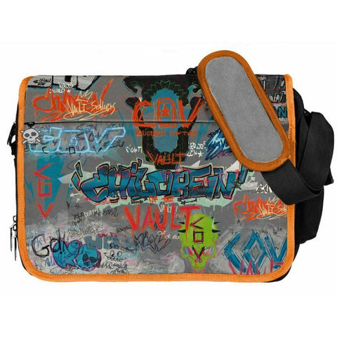 Borderlands 3 Children of the Vault Graffiti Messenger Bag