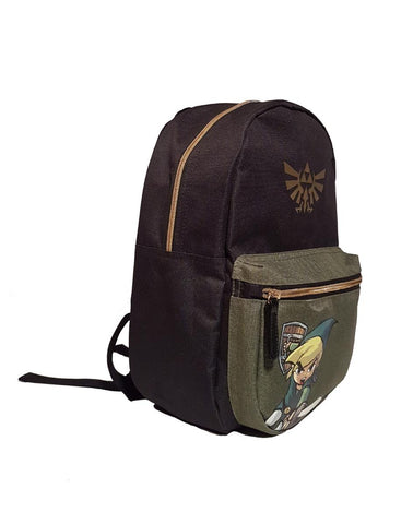 The Legend of Zelda Black Woods Boys Backpack
