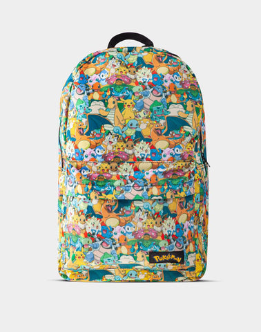 Pokemon Character Print Backpack