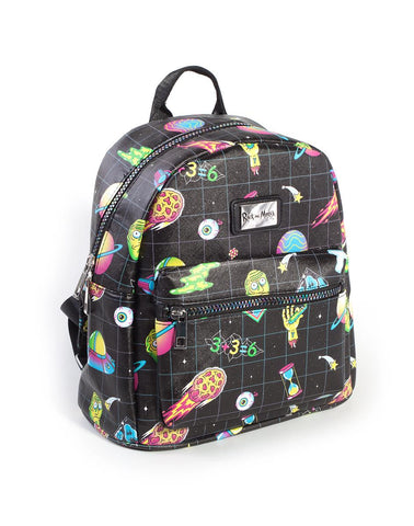 Rick and Morty All Over Print Mini Backpack