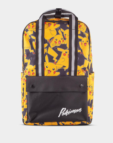 Pokemon Pikachu Print Backpack