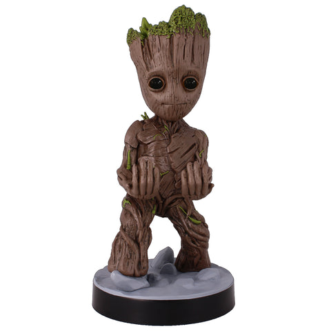 Marvel The Avengers Toddler Groot Cable Guy Controller & Smartphone Stand