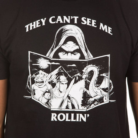 Jinx Can't See Me Rollin' Men's T-Shirt
