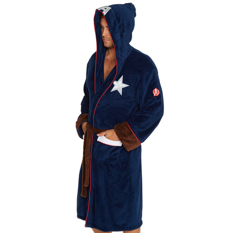 Captain America Bath Robe