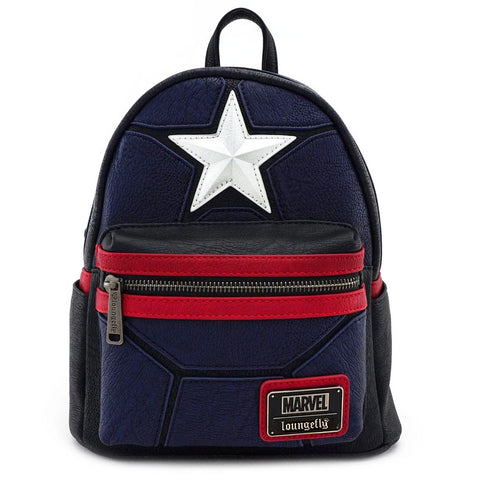 Loungefly x Marvel Captain America Mini Backpack