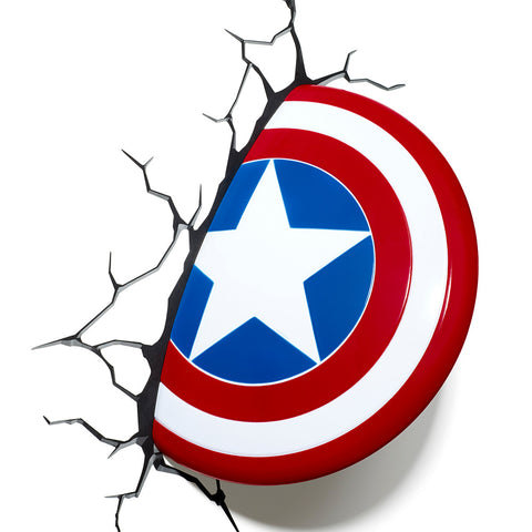 Captain America Shield 3D Night Light
