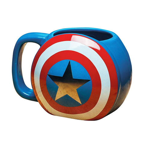 Marvel Captain America 3D Shield Mug