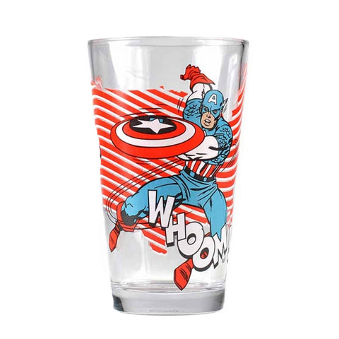 Marvel Captain America Glass