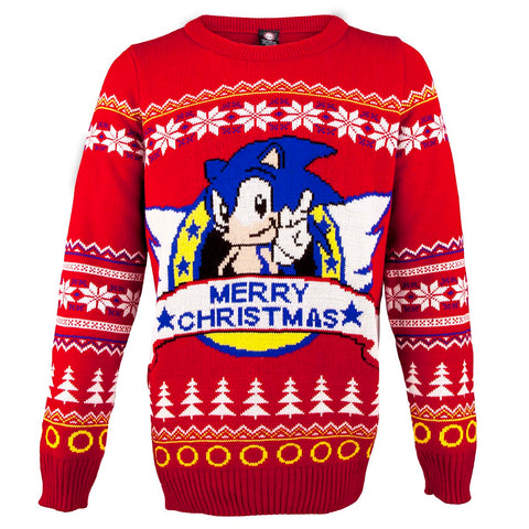 Sonic the Hedgehog Classic Christmas Jumper / Sweater