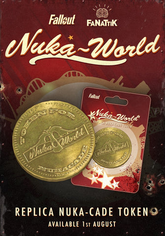 Fallout Nuka-World Nuka-Cade Replica Token