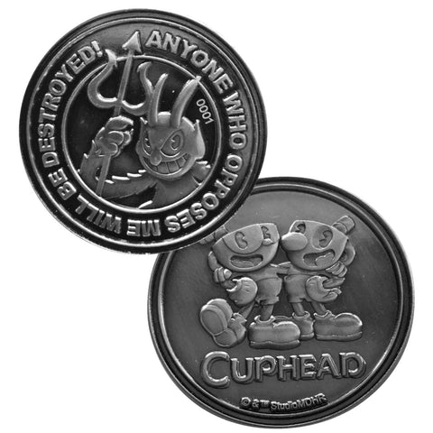 Cuphead Limited Edition Collectors Coin