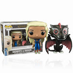 Game of Thrones Daenerys & Drogon Funko Pop! Vinyl Double Pack