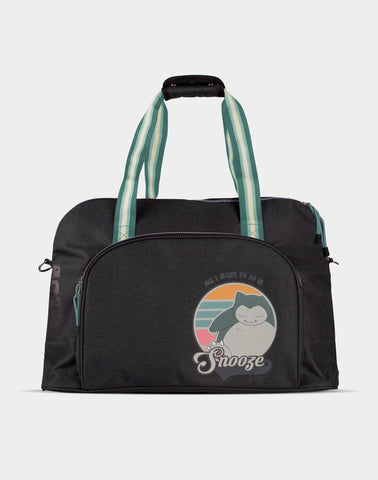Pokemon Snorlax Overnight Bag