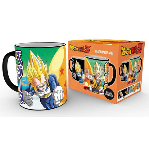 Dragon Ball Z Super Saiyans Heat Change Mug