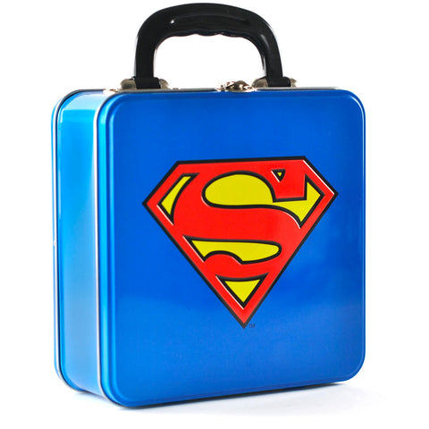 DC Comics Superman Embossed Tin Tote