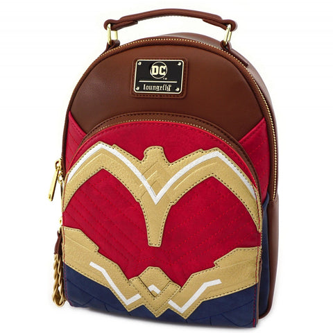 Loungefly X DC Comics Wonder Woman Cosplay Mini Backpack