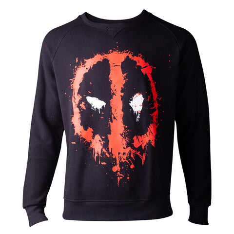 Marvel Deadpool Dripping Face Sweater