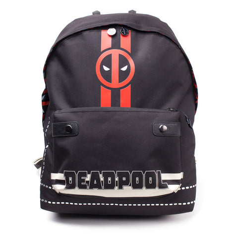 Deadpool Striped Backpack