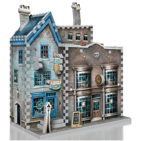 Harry Potter Diagon Alley Collection Olivanders & Scribbulus 3D Puzzle
