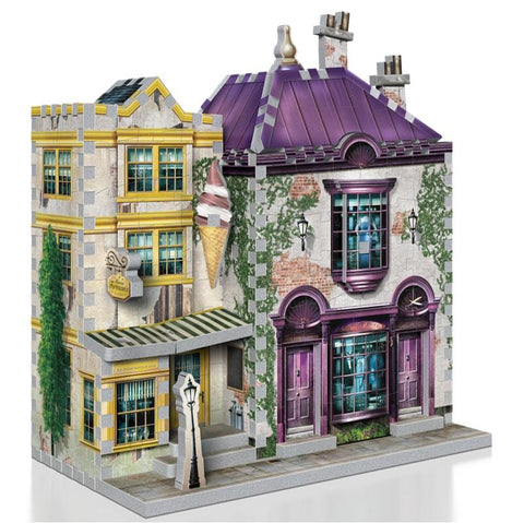 Harry Potter Diagon Alley Collection Madam Malkins & Florean Fortescues 3D Puzzle