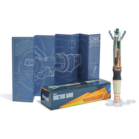 Doctor Who Twelfth Doctor's Sonic Screwdriver Remote Control