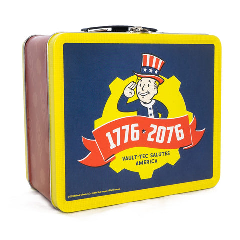 Fallout 76 Tricentennial Collectable Tin Tote