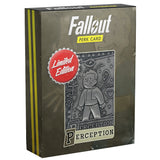 Fallout Limited Edition Metal Perk Card # 2 - Perception