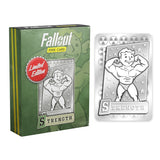 Fallout Limited Edition Metal Perk Card # 1 - Strength