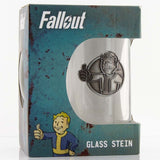 Fallout Vault Boy Stein Glass