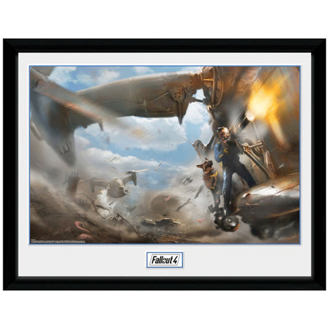 Fallout Virtibird Collectors Framed Print