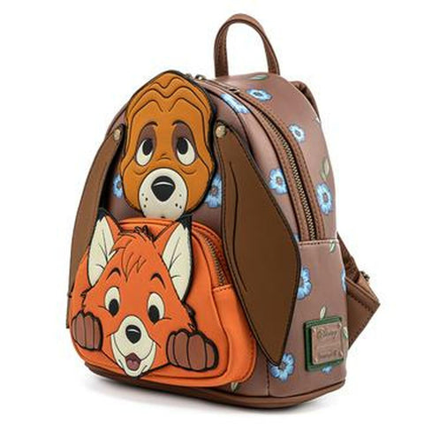 Loungefly x Disney Fox and the Hound Mini Backpack