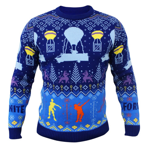 Fortnite Knitted Christmas Jumper/Sweater