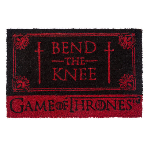 Game of Thrones Bend the Knee Coir Doormat