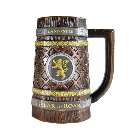 Game of Thrones Embossed House Lannister Stein Mug