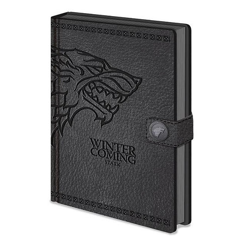Game of Thrones Stark Premium Notebook